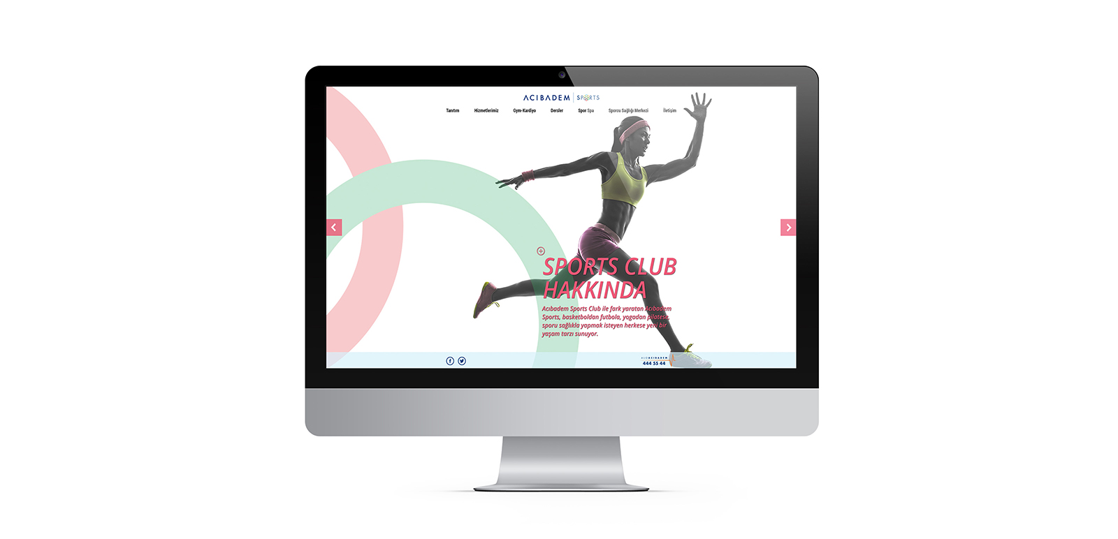 Acıbadem Sports Website 1