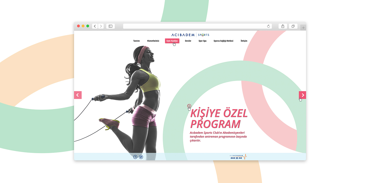 Acıbadem Sports Website 2