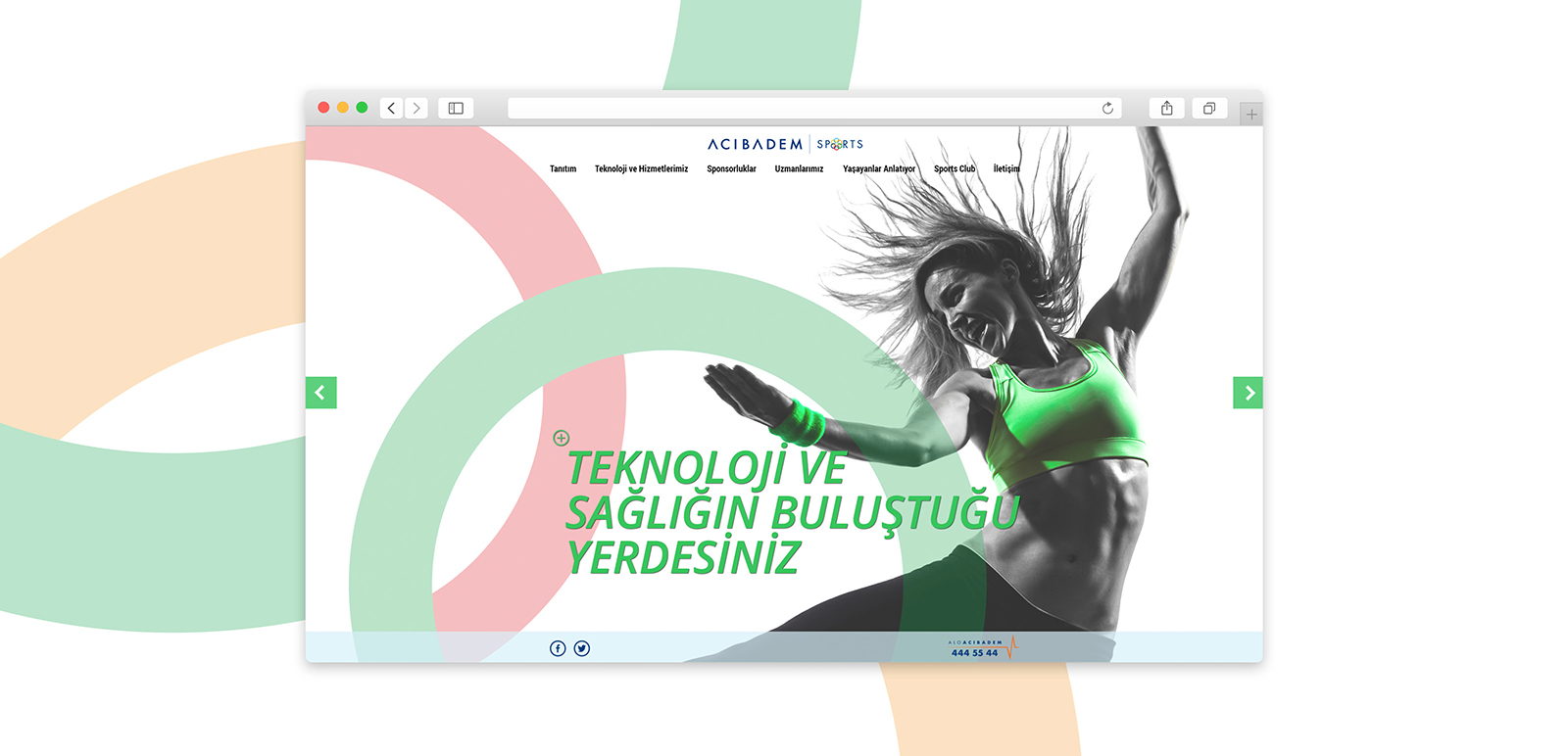 Acıbadem Sports Website 3