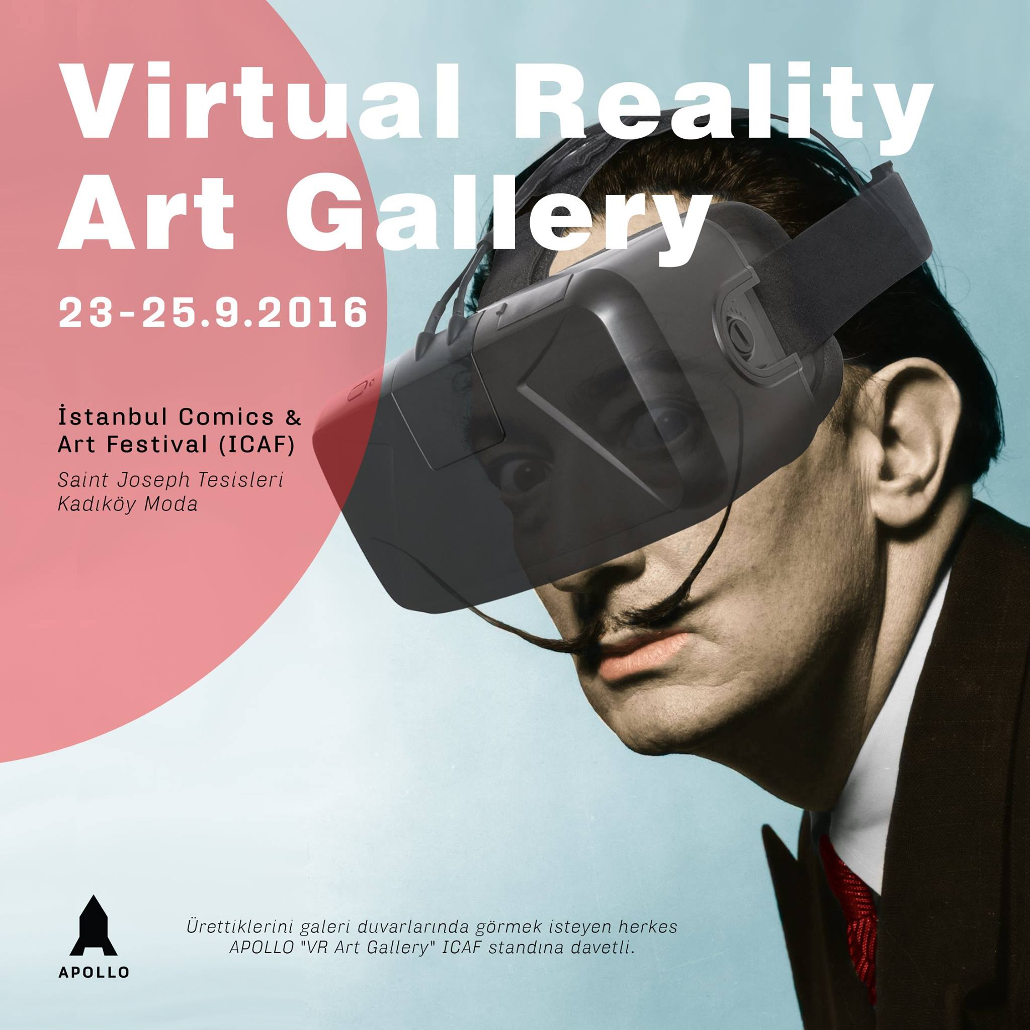"APOLLO ""Virtual Reality Art Gallery"" İstanbul Comics & Art Festival ICAF"