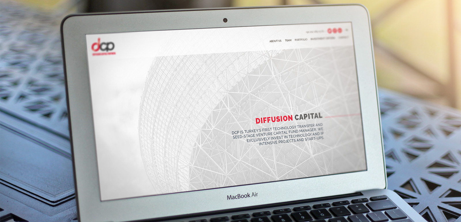 DCP Diffusion Capital Partners Website 7