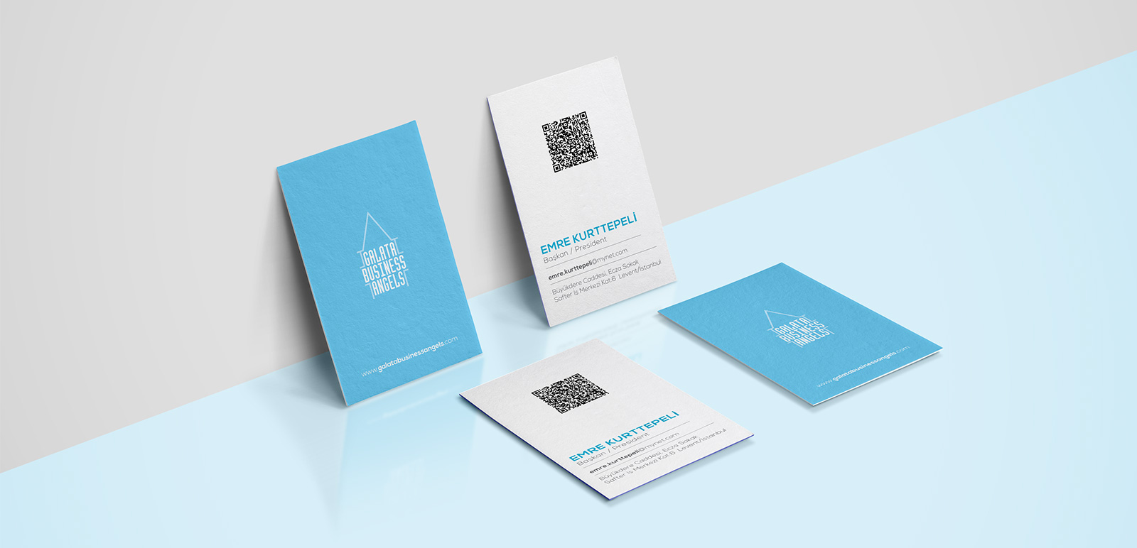 Galata Business Angels Business Cards, Brochures 1