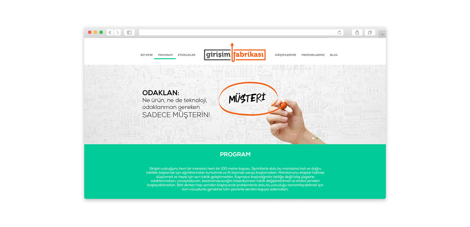 Fit Startup Factory Website 4