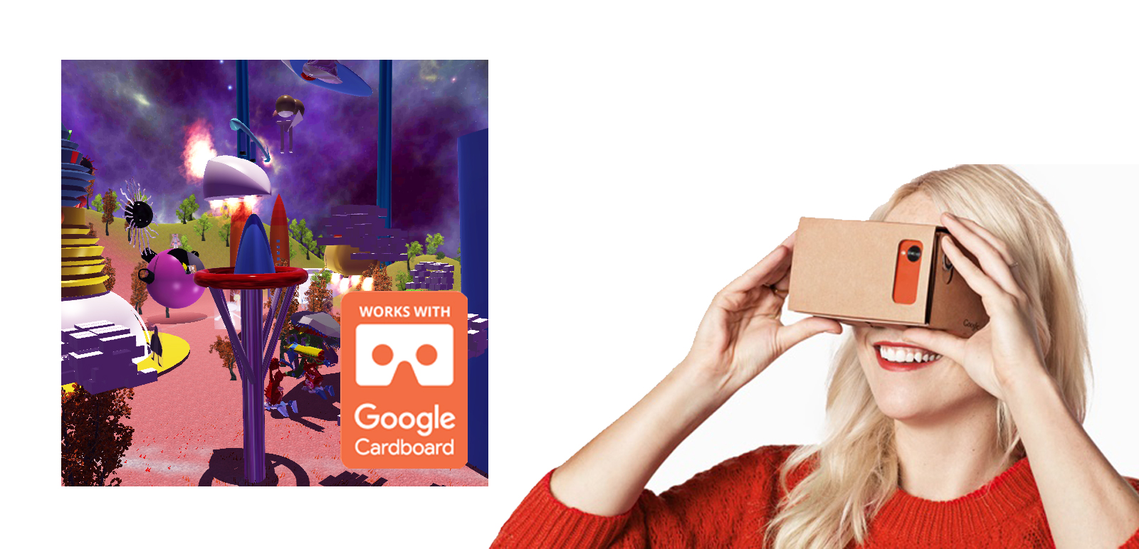 VR Imaginary Offices Tour for Google Cardboard 1