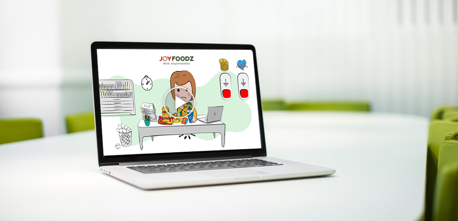 Joyfoodz Animation, Illustration 1