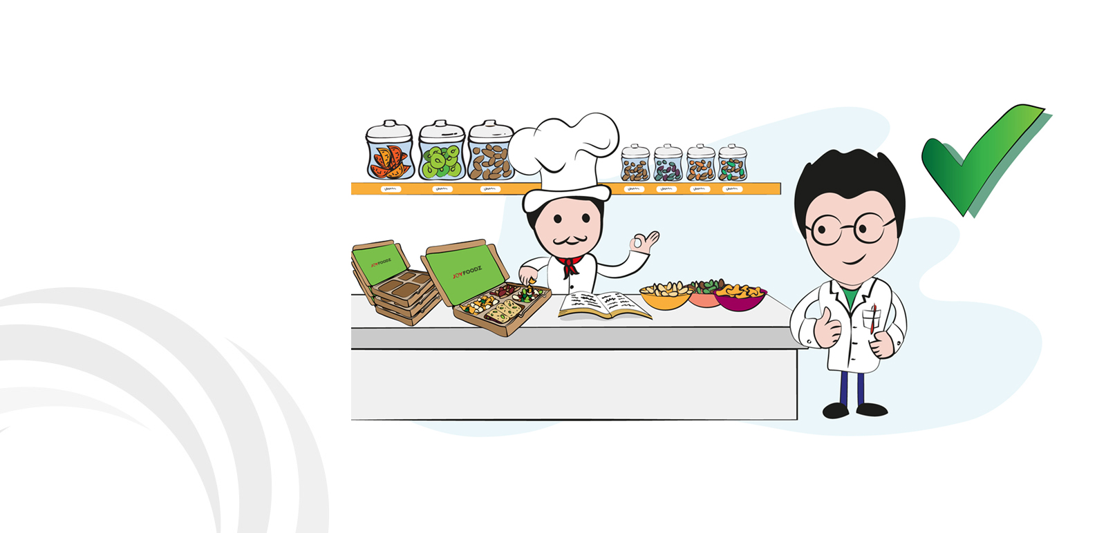 Joyfoodz Animation, Illustration 11