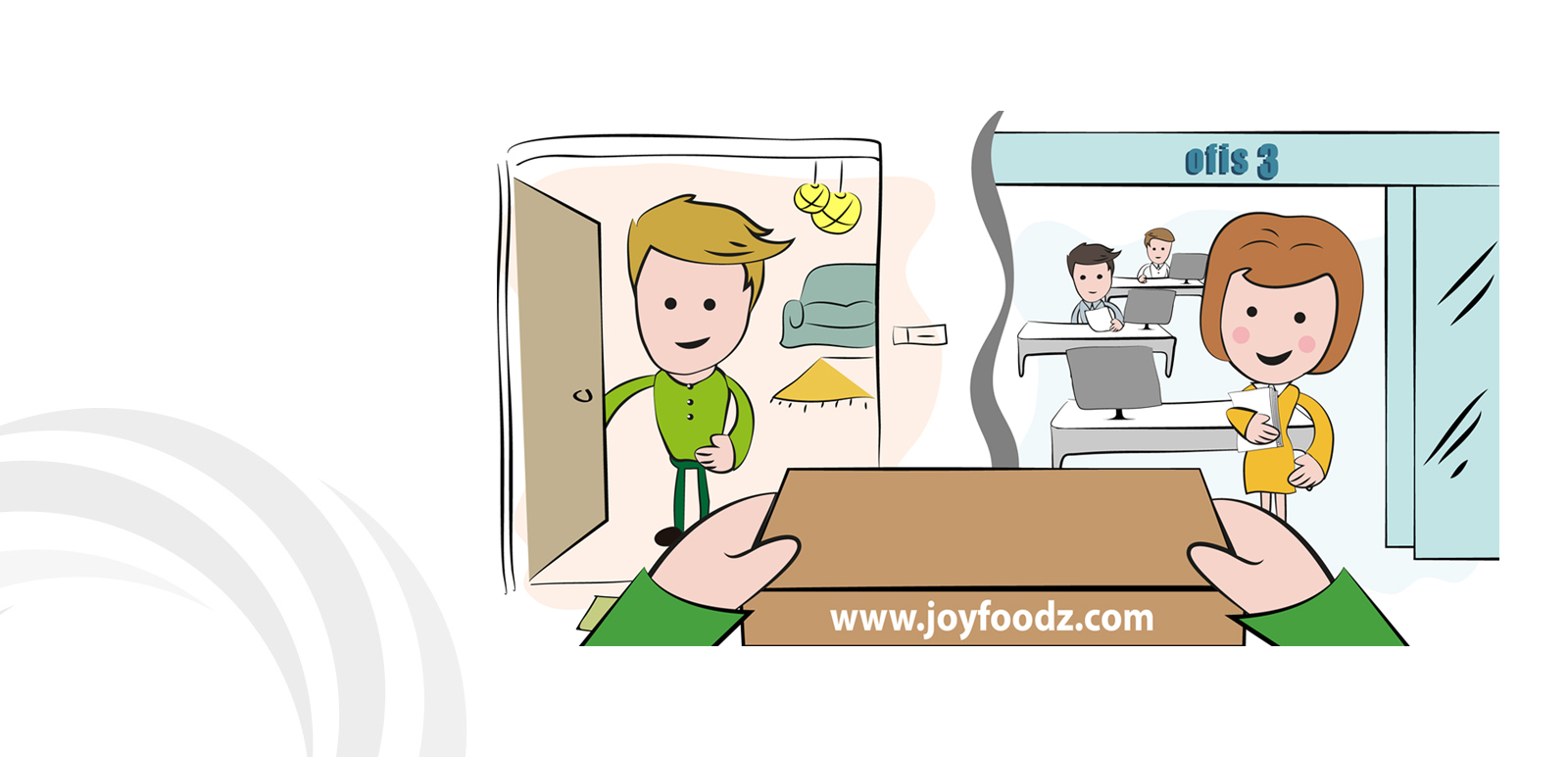 Joyfoodz Animation, Illustration 12