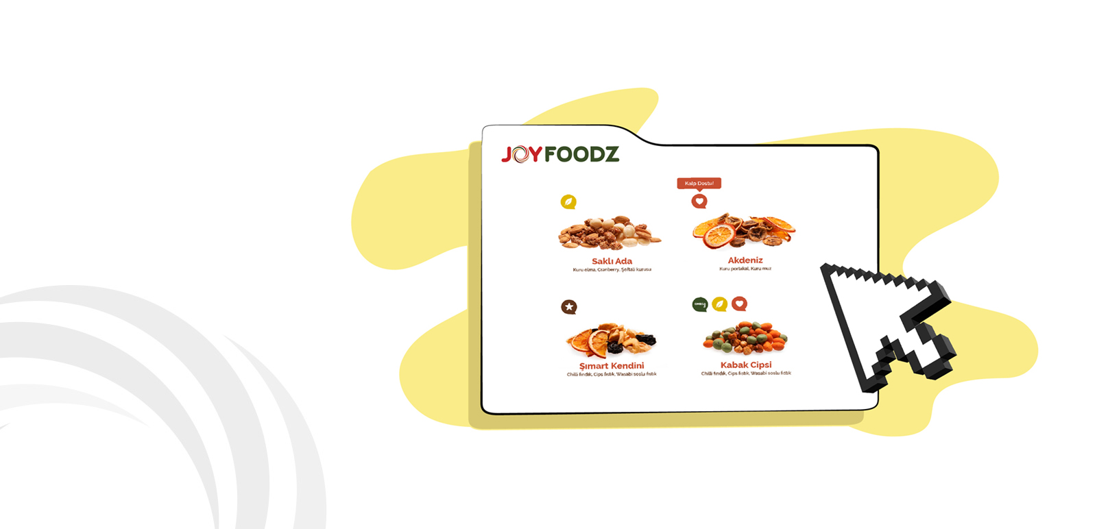 Joyfoodz Animation, Illustration 10