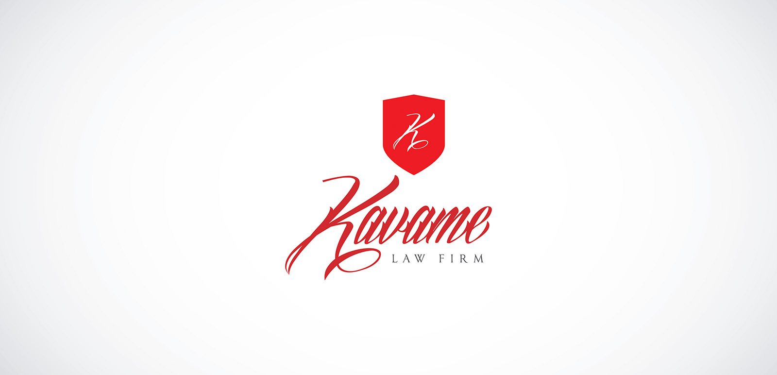 Kavame Law Firm Logo, Corporate Identity 1