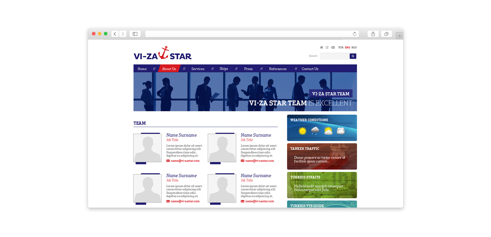 VIZA  Star Website 5