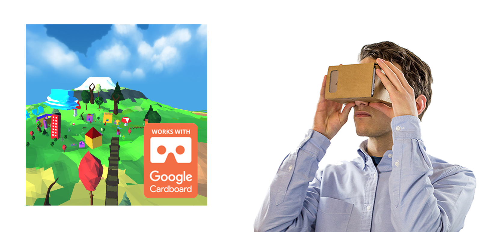 "VR ""I have a dream"" Workshop Tour for Google Cardboard 1"